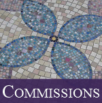 Commissions done by Victoria Harrison on Living Mosaics