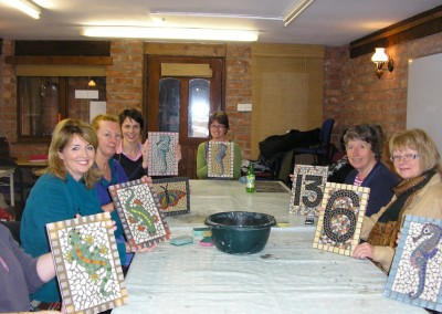 Living Mosaics: Jinney Ring Craft Centre. An All Day Mosaic Workshop March 2013