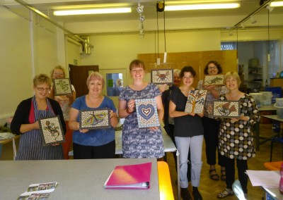 outh Worcestershire College, Malvern Campus August 2013 - An all day mosaic workshop
