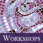 Workshops run by Victoria Harrison at Living Mosaics