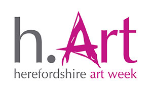 Herefordshire Art Week - h.Art 2018 logo